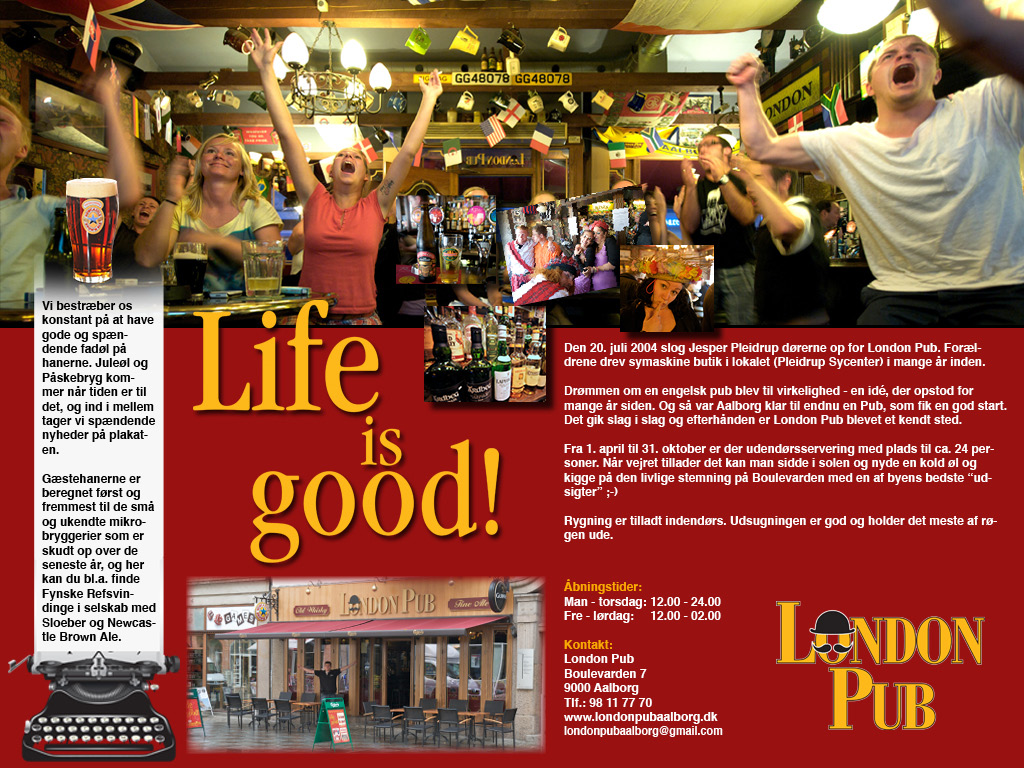 british pub til salg